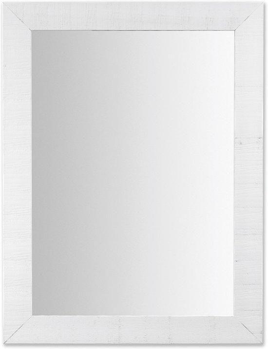 Kave Home Seven - Spiegel - Hout - 82x62 cm - Wit