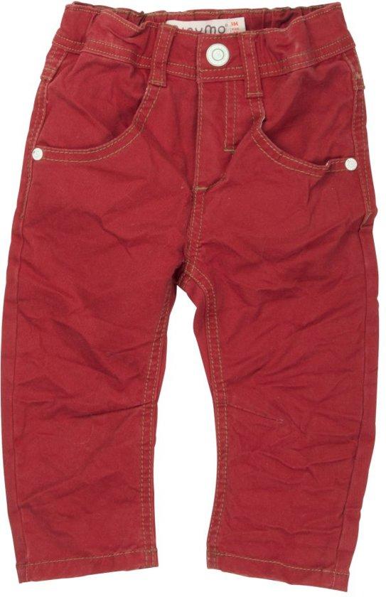MINYMO Jongens Jeans - bordeaux - Maat 86