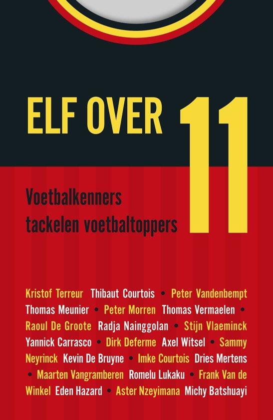 Boek cover Elf over 11 van Stijn Vlaeminck (Onbekend)