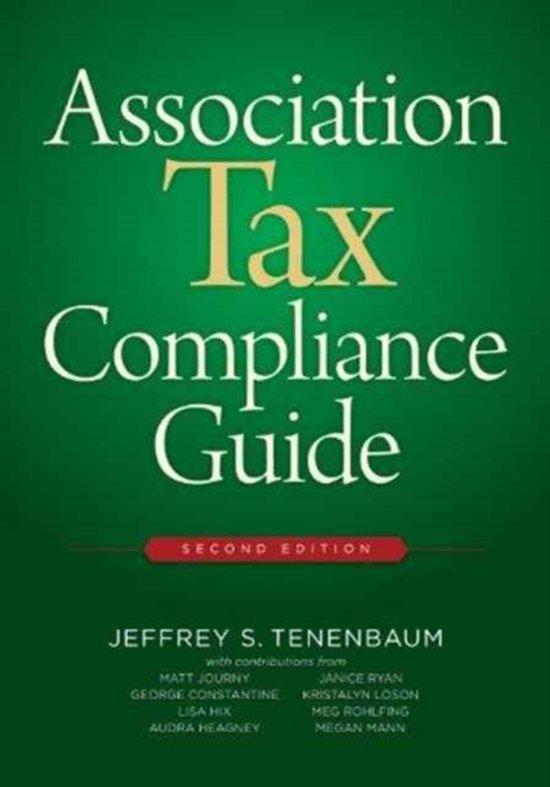 Association Tax Compliance Guide