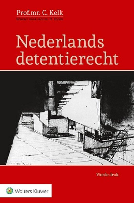 Bekend bol.com | Nederlands detentierecht | 9789013124262 | C. Kelk | Boeken QV-79