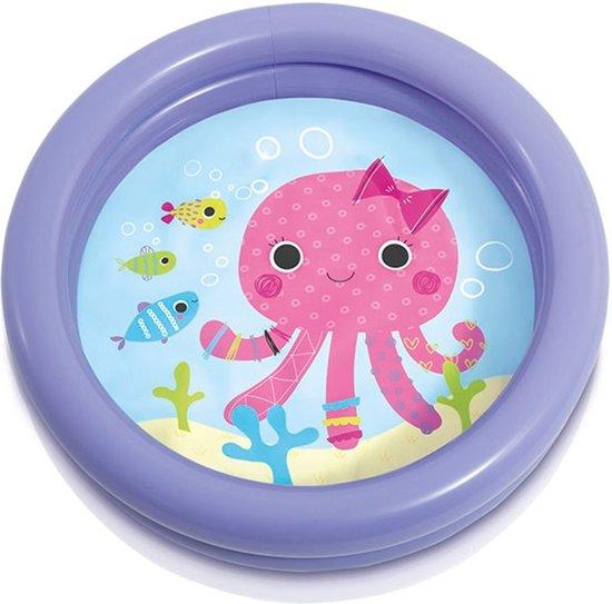 Intex Babybadje Inktvis 61 Cm Paars