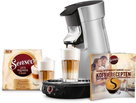 Philips Senseo Viva Café HD7831/10 Bundel - Koffiepadapparaat - Zilver