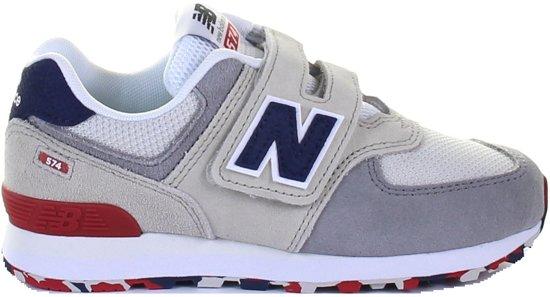 a44e13f483e bol.com   New Balance Meisjes Sneakers Yv574 M - Beige - Maat 33