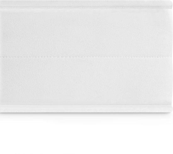 Matras - 90x200 - 7 zones - koudschuim - microvezel tijk - 15 cm hoog - medium & hard