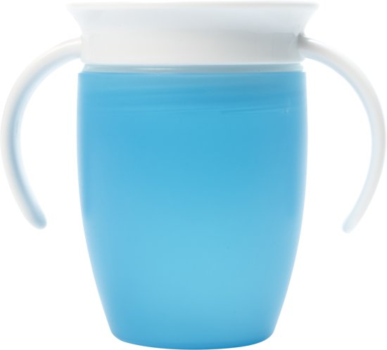 Miracle 360 trainer cup/oefenbeker blauw antilekbeker