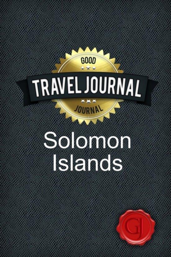 Travel Journal Solomon Islands