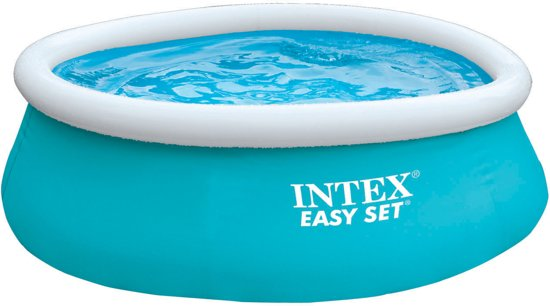 Intex Easy Set Opblaasbaar Zwembad - 244 cm