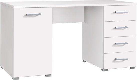 true furniture baily bureau 140 cm wit. Black Bedroom Furniture Sets. Home Design Ideas
