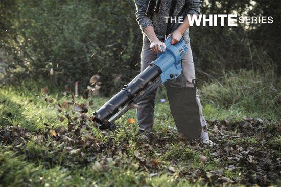 The White Series – Bladblazer – Lichtgewicht - 3000W – 102cm – 3 in 1 - Blauw