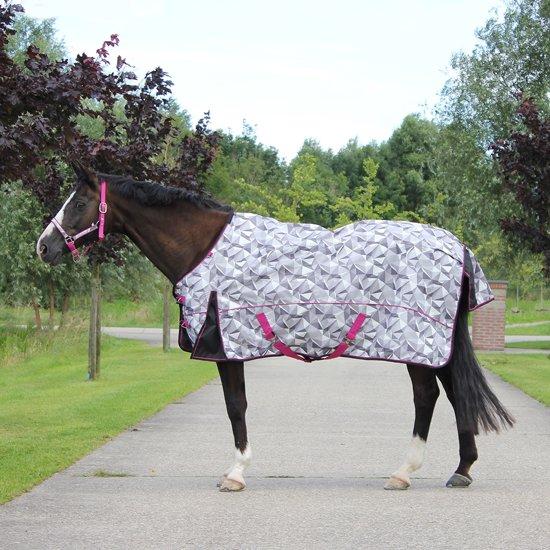 Regendeken Origami luxe 0gr paardendeken - maat 125