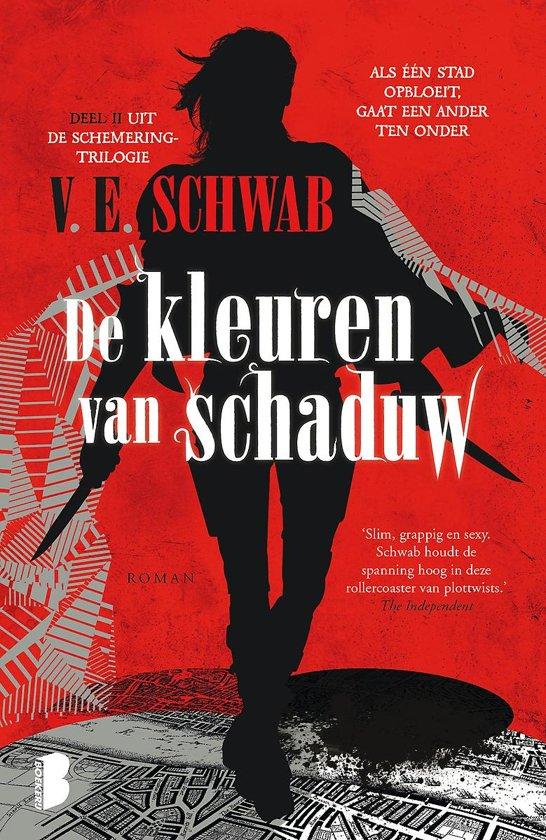 Boek cover Schemering 2 - De kleuren van schaduw van V.E. Schwab (Paperback)