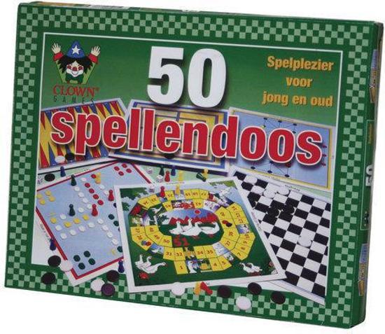 50 Spellendoos - Bordspel