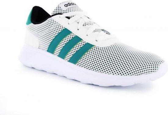 adidas Lite Racer - Sneakers - Heren - Wit - Maat 44