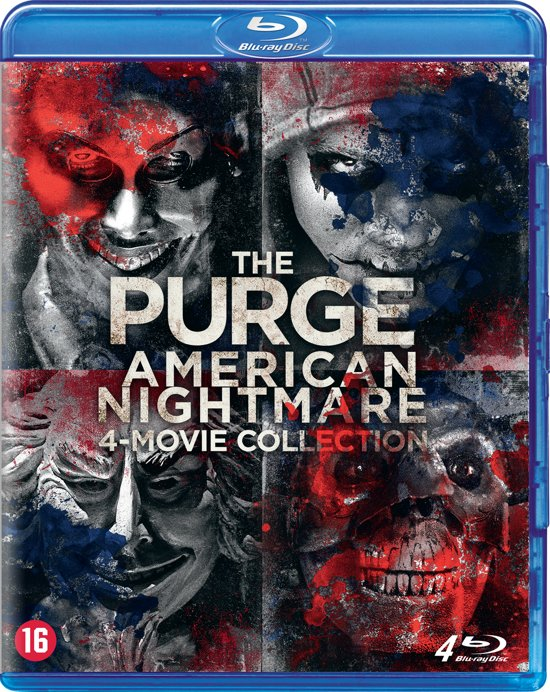Afbeelding van The Purge - 1 t/m 4 Nightmare Collection (Blu-ray)