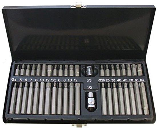 Stahlkaiser 40 Delige Inbus, Torx – Veeltand bit set