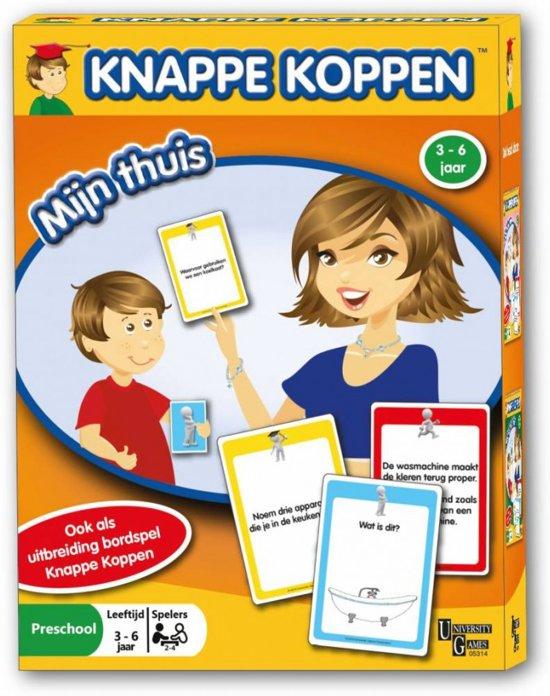 Afbeelding van het spel Knappe Koppen - Mijn Thuis