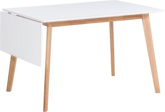 Beliani Medio - Eettafel - Wit - Hout - 120 x 80 cm