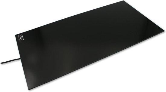 Infrarood bureau verwarming fiber plaat zelfplakkend 150Watt inclusief dimmer 300 x 600 x 6 mm