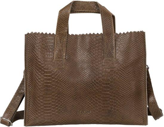 Crossbody Handbag Myomy Bag My Paper Beige Handtassen n0wvNm8