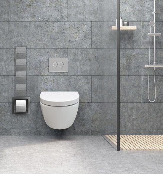 Wc Rollen Opbergen.Inbouw Toilet Reserve Rolhouder Rvs