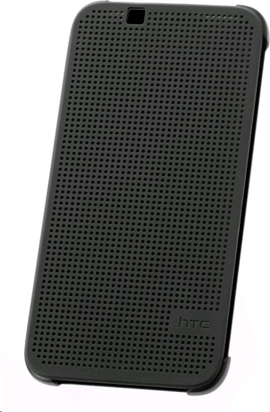 online store ecec1 533be HTC HC-M130 Dot View case - zwart- voor HTC Desire 510