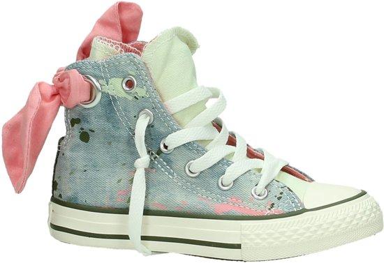0688cde096e Converse Chuck taylor as bow back hi - Sneakers - Meisjes - Maat 28 - Blauw