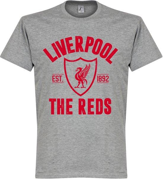 Liverpool Established T-Shirt - Grijs - XL