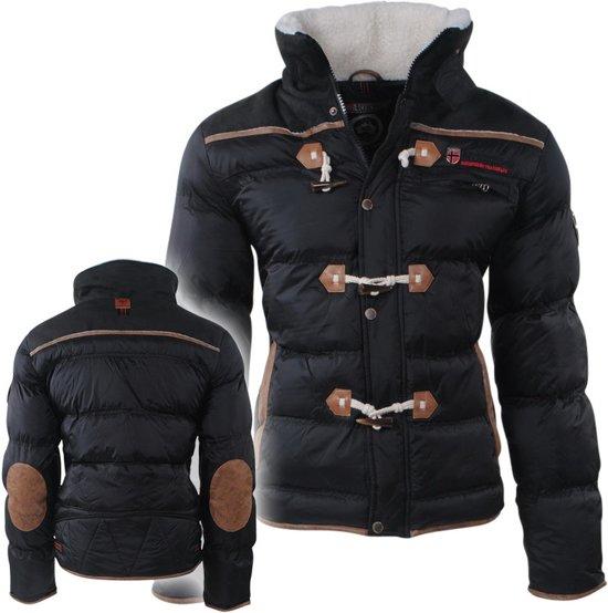 Trendy Winterjas.Bol Com Geographical Norway Trendy Heren Winterjas Met Teddy