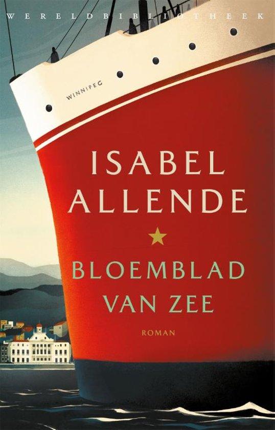 Boek cover Bloemblad van zee van Isabel Allende (Paperback)