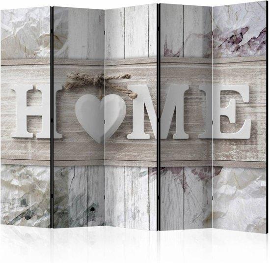 Vouwscherm - Opschrift Home 225x172cm