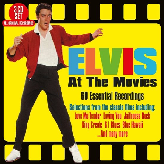 CD cover van Elvis At The Movies van Elvis Presley