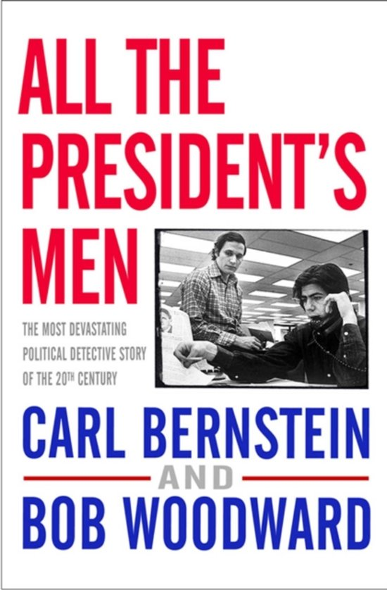 Boek cover All The Presidents Men van B. Woodward (Paperback)
