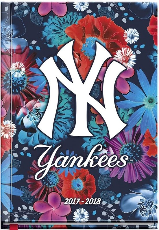 MLB New York Yankees Flowers schoolagenda 2017 2018