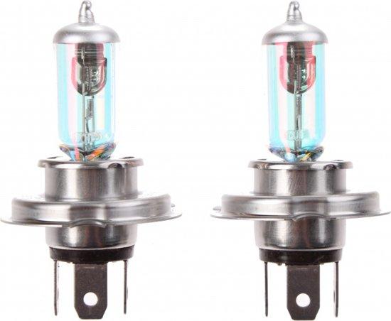 Lifetime Cars Autolampen H4 12 Volt 55/60 Watt Xenon Look Wit 2 St