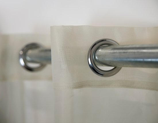 Bol.com vitrage met ring kant en klaar gordijn 135cm x 240cm