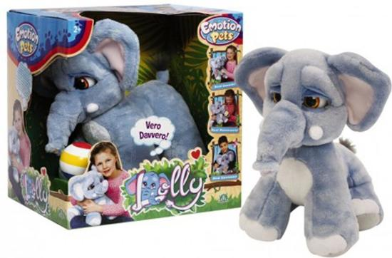 Interactieve knuffel Lolly de pluche olifant