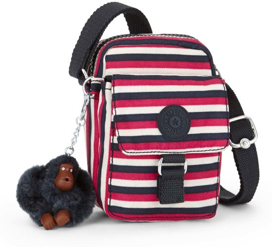 Kipling Teddy Crossbodytas - Sugar Stripes
