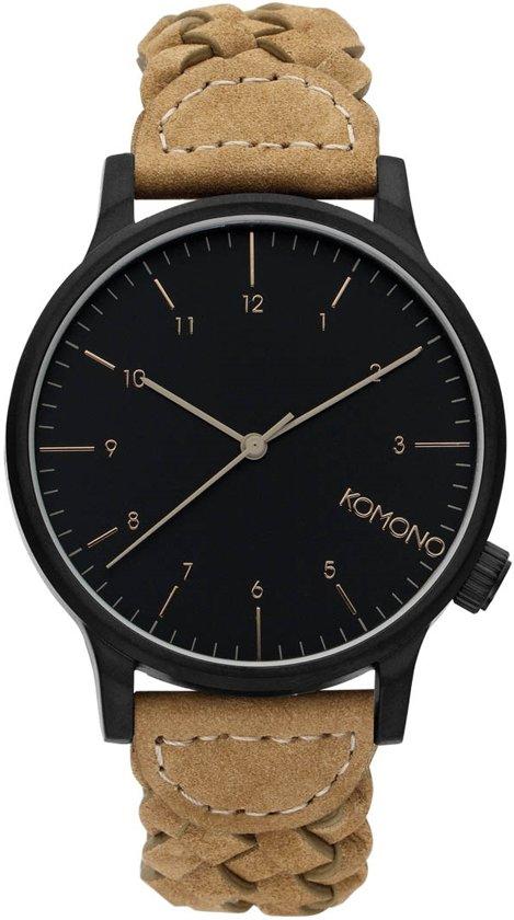 f2857499596 bol.com | Komono Winston Woven Cobblestone horloge W2036