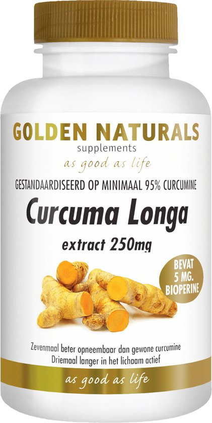Golden Naturals Curcuma Longa (60 capsules)