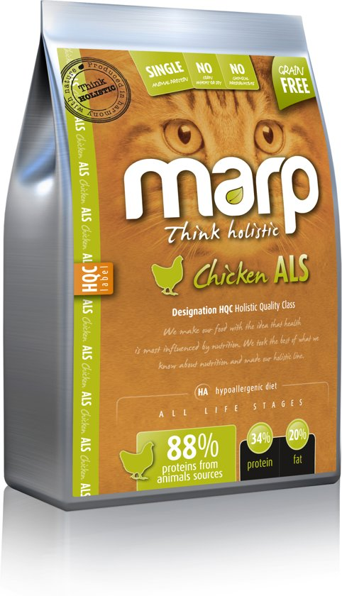 Marp for Cats Think Holistic Chicken ALS 12 KG