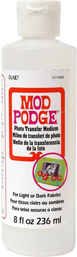 Mod Podge Photo Transfer Medium, 236ml 8 oz.