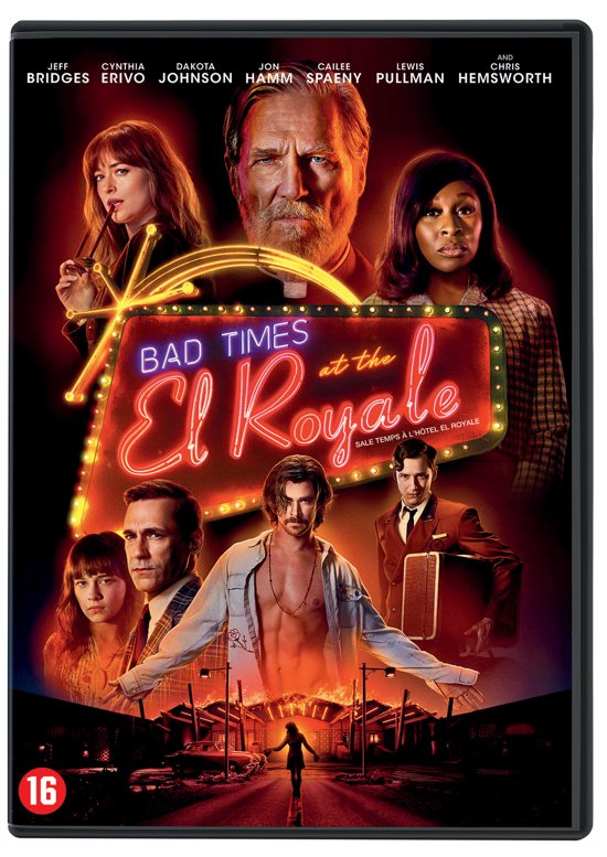 DVD cover van Bad Times At The El Royale