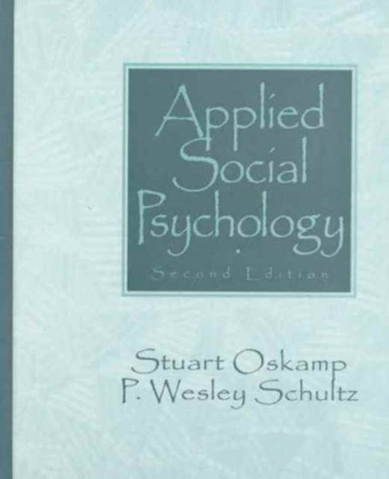 theories in social psychology chadee derek