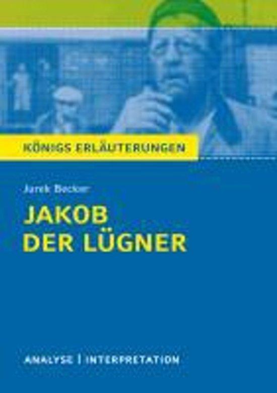 Bolcom Jakob Der Lügner Von Jurek Becker Textanalyse Und