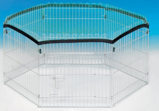 Nobby afdeknet voor loopren - 6x 60 x 60 cm