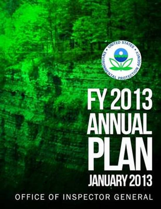 Fy 2013 Annual Plan