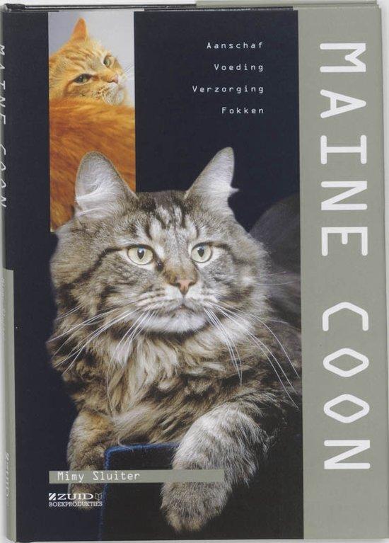 Boek cover Maine Coon van Mimy Sluiter (Hardcover)