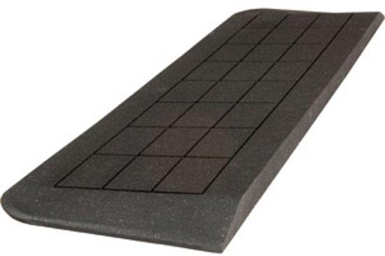 Nieuw bol.com | Drempelhulp rubber 20x120x900 mm, 3 zijdig oprijdbaar HC-77