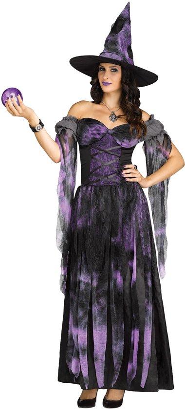 Paarse heks kostuum voor vrouwen - Verkleedkleding